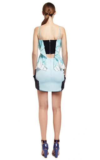 Embroidered Volt Skirt by PETER PILOTTO for Preorder on Moda Operandi