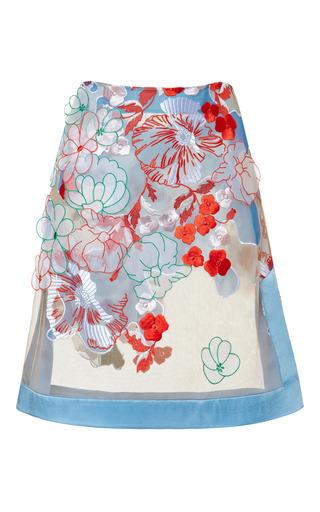 Medium jonathan saunders white romily skirt