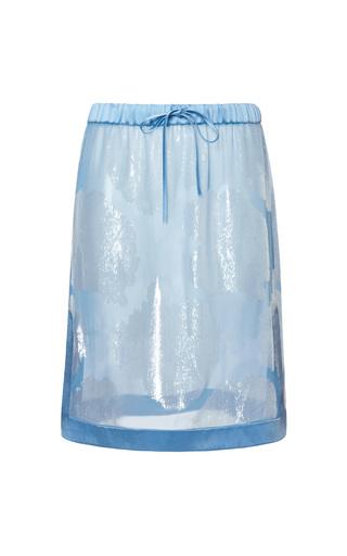 Medium jonathan saunders blue gemma skirt
