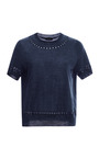 Embroidered Wool And Silk Knit Top by MARC JACOBS Now Available on Moda Operandi