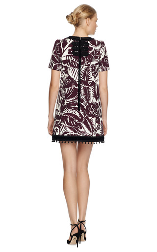 Embellished Floral Print Mini Dress by MARC JACOBS Now Available on Moda Operandi