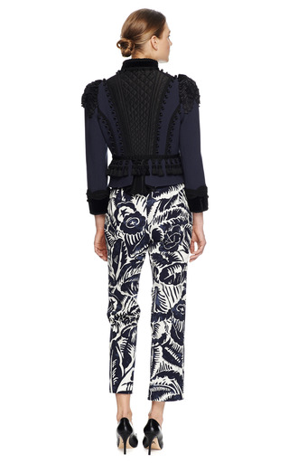 Floral Print Slim Pants by MARC JACOBS Now Available on Moda Operandi