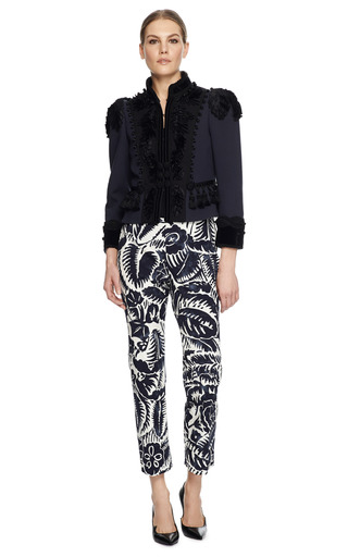 Victorian Wool Crepe Jacket by MARC JACOBS Now Available on Moda Operandi