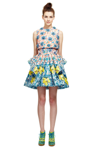 Silverfloss Skirt by MARY KATRANTZOU for Preorder on Moda Operandi
