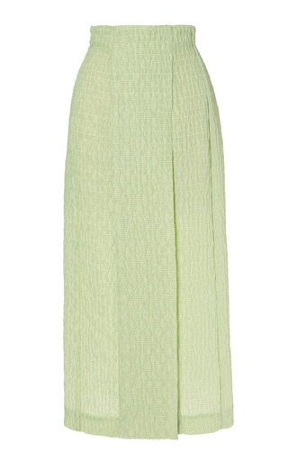 Medium emilia wickstead light green anita skirt