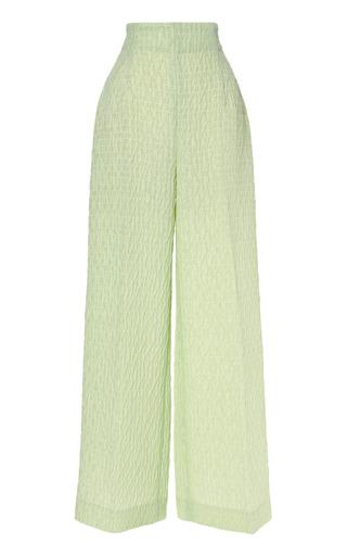 Medium emilia wickstead light green camille ii 34 trouser