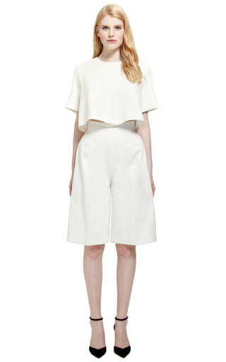 Camille Ii Culotte by EMILIA WICKSTEAD for Preorder on Moda Operandi