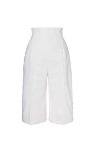 Medium emilia wickstead white camille ii shorts