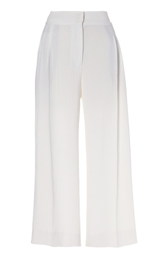 Medium emilia wickstead off white courtney 34 trouser 3