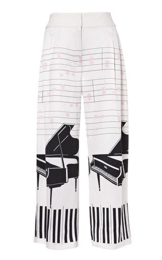 Medium emilia wickstead print courtney 34 trouser