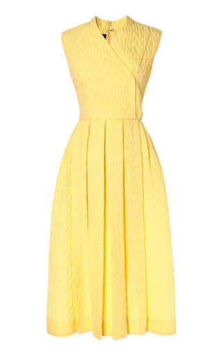 Medium emilia wickstead yellow jully dress