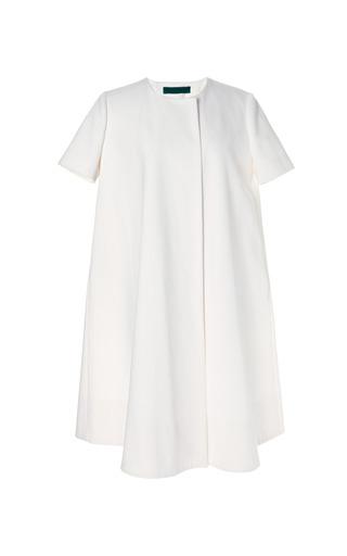 Medium emilia wickstead white karina dress coat