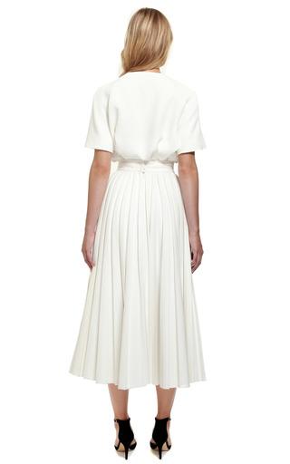 Pleated Skirt by EMILIA WICKSTEAD for Preorder on Moda Operandi