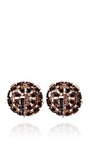 Vintage Trifari Rhinestone Flower Earrings by HOUSE OF LAVANDE Now Available on Moda Operandi