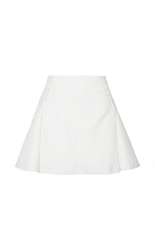 Medium nina ricci white cotton skirt