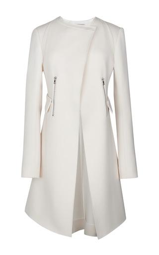 Medium nina ricci off white wool coat