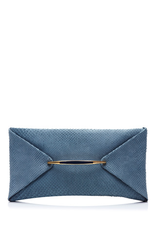 Medium nina ricci dark grey carte blanche clutch 2