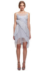 Pleated Chiffon Dress by NINA RICCI for Preorder on Moda Operandi