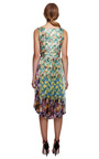 Printed Satin Dress by NINA RICCI for Preorder on Moda Operandi