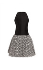 Pleated Back And Graphic Print Dress by MARTIN GRANT for Preorder on Moda Operandi