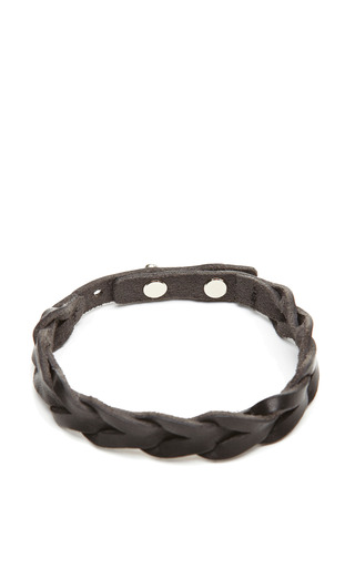Medium isabel marant black braided reading bracelet