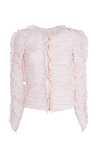 Medium isabel marant pink light pink landen jacket