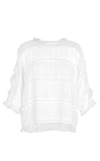 Medium isabel marant white white olympe top