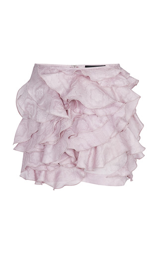 Medium isabel marant purple lilac yumi skirt