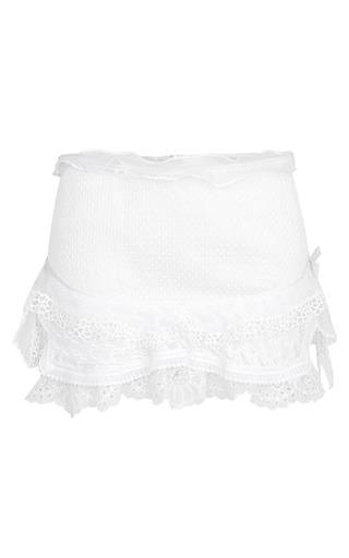 Medium isabel marant white white qodessa skirt