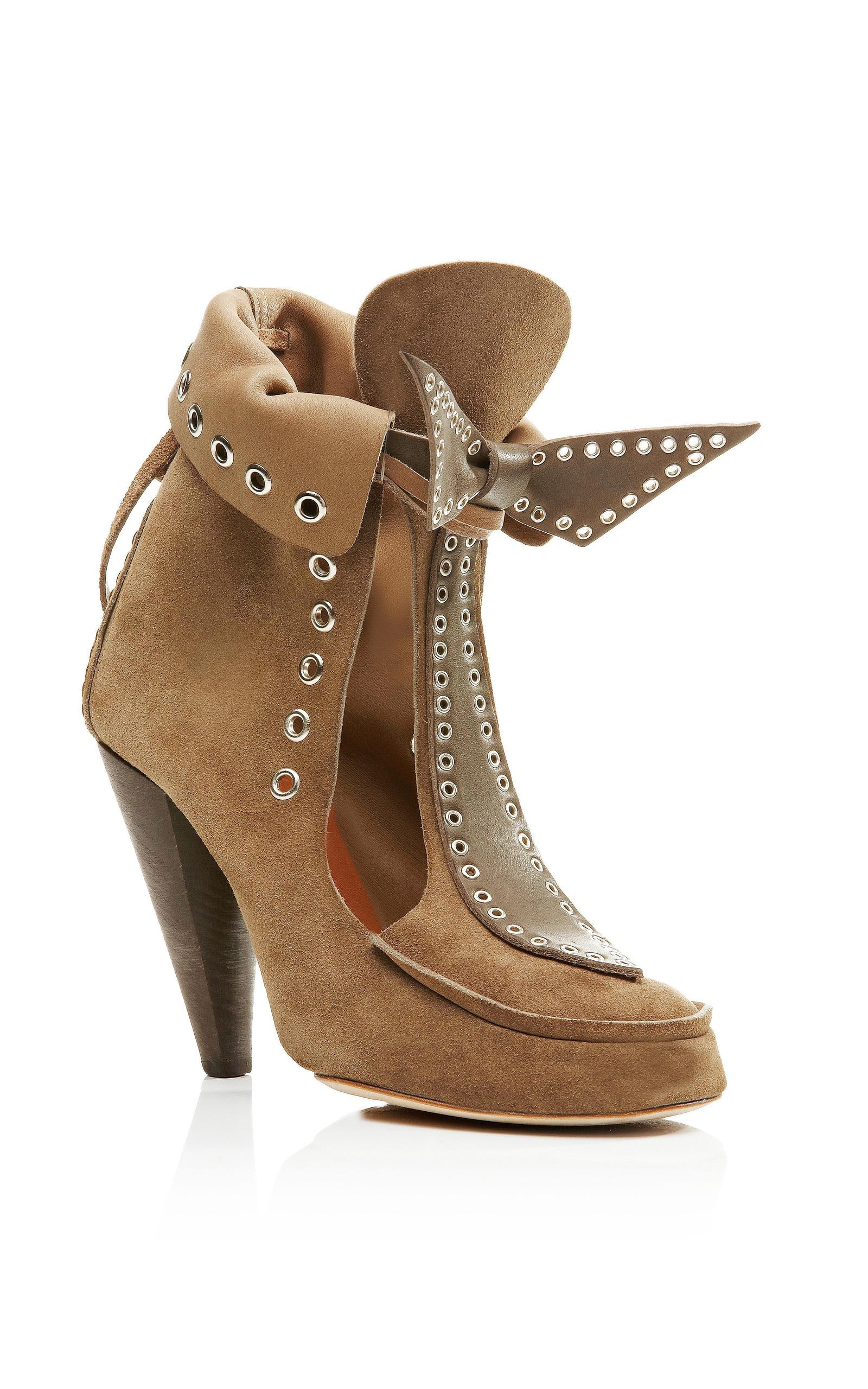 6aec5dc7f1e Isabel MarantMilla Bow Tie Loafer Heel. CLOSE. Loading
