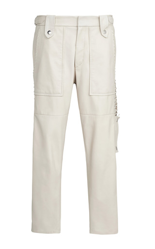 Medium isabel marant brown ecru beatrix pant