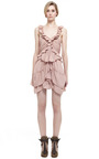 Antique Pink Heron Dress by ISABEL MARANT for Preorder on Moda Operandi