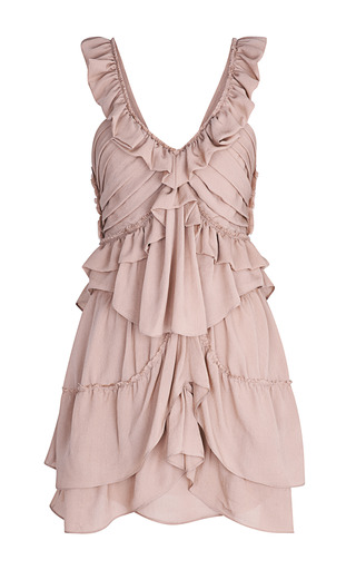 Medium isabel marant pink antique pink heron dress