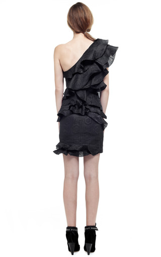 Black Yaele Dress by ISABEL MARANT for Preorder on Moda Operandi