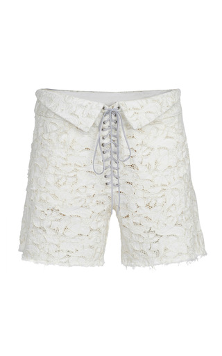 Medium isabel marant white white izard short