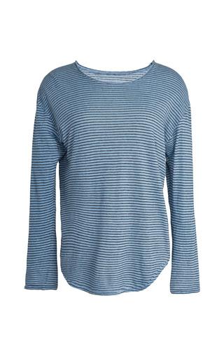 Medium isabel marant dark grey slate blue felix shirt