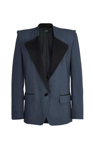 Medium isabel marant dark grey slate blue daker jacket