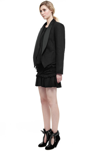Black Daisy Jacket by ISABEL MARANT for Preorder on Moda Operandi