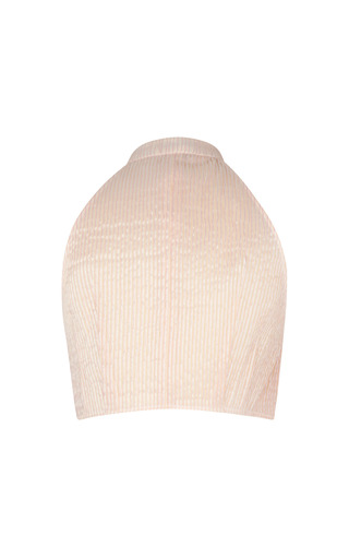 Pintucked Dicky Top by VIKA GAZINSKAYA for Preorder on Moda Operandi