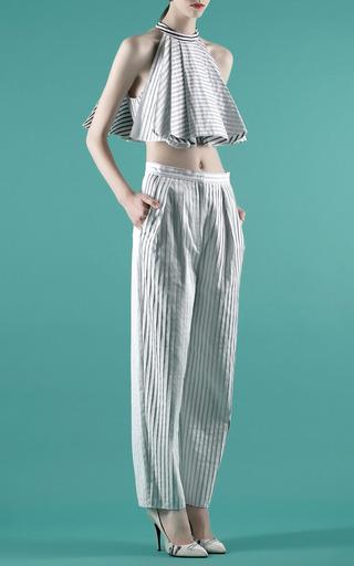Striped Dicky Top by VIKA GAZINSKAYA for Preorder on Moda Operandi