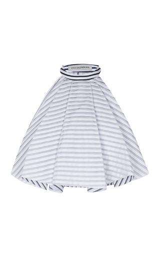 Medium vika gazinskaya dark grey striped dicky top