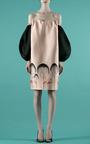 Decolette Flamingo Tree Patterned Dress by VIKA GAZINSKAYA for Preorder on Moda Operandi