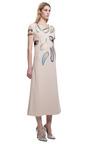 Multi Petal Short Sleeve Mid Dress by CHRISTOPHER KANE for Preorder on Moda Operandi