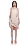 Double Croc Lift Hem Gems Cami Dress by CHRISTOPHER KANE for Preorder on Moda Operandi