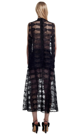 Black Across Arrow Skirt by CHRISTOPHER KANE for Preorder on Moda Operandi
