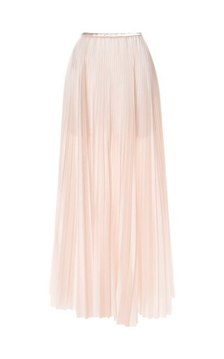 Medium christopher kane nude shower pleat skirt