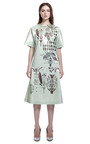 Laser Cut Ingredients Skirt by CHRISTOPHER KANE for Preorder on Moda Operandi