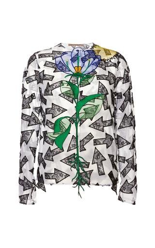 Medium christopher kane multi random arrow jacket