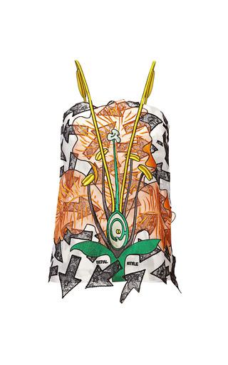 Medium christopher kane multi random arrow embroidered camisole