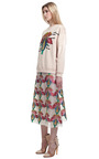 Sequin Carnation Skirt by CHRISTOPHER KANE for Preorder on Moda Operandi